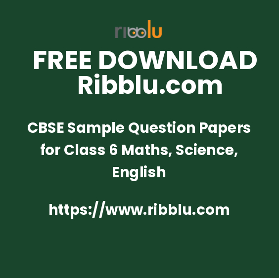 CBSE Class 6 Worksheets, Sample Papers & Question Papers
