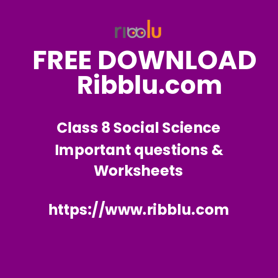 CBSE Class 8 Social Science Sample Papers & Worksheets