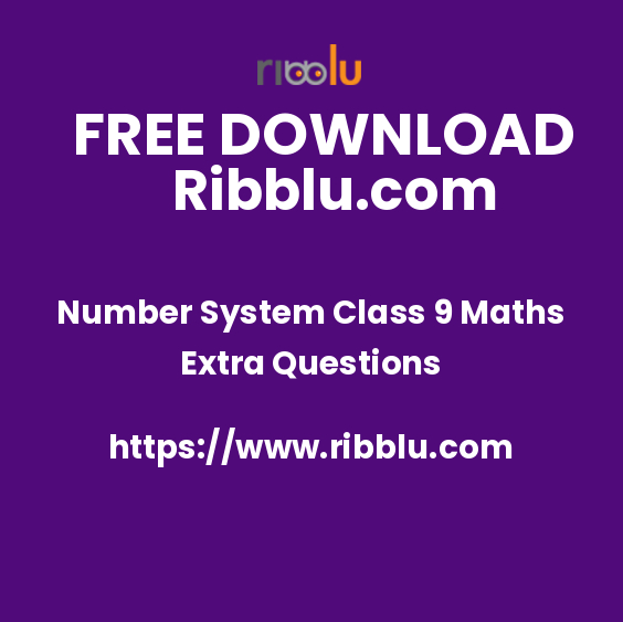 Number System Class 9 Maths Extra Questions